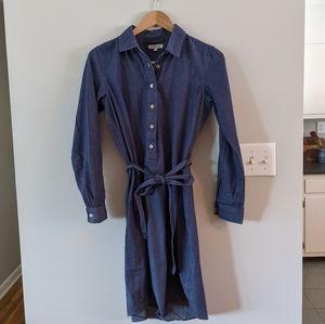 Downeast Denim Button Down Dress